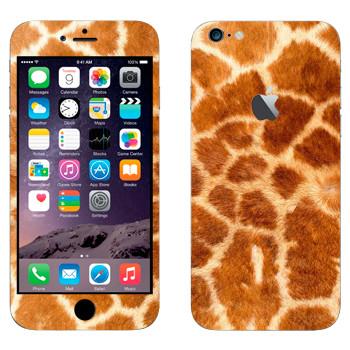 Виниловая наклейка «Шкура жирафа» на телефон Apple iPhone 6 Plus/6S Plus