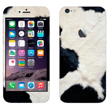 Виниловая наклейка «Шкура коровы» на телефон Apple iPhone 6 Plus/6S Plus