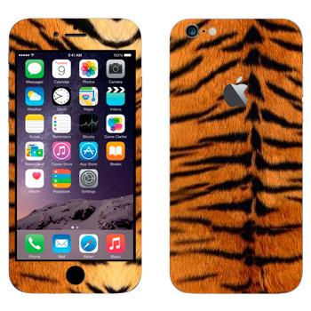 Виниловая наклейка «Шкура тигра» на телефон Apple iPhone 6 Plus/6S Plus