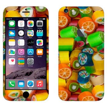 Виниловая наклейка «Сладости» на телефон Apple iPhone 6 Plus/6S Plus