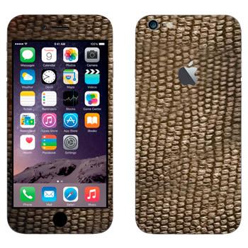 Виниловая наклейка «Змеиная кожа» на телефон Apple iPhone 6 Plus/6S Plus
