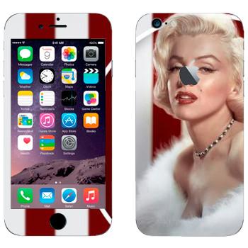Виниловая наклейка «Мэрилин Монро» на телефон Apple iPhone 6/6S
