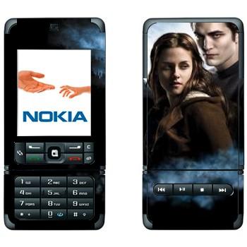 Виниловая наклейка Эдвард и Белла - Сумерки на телефон Nokia 32
