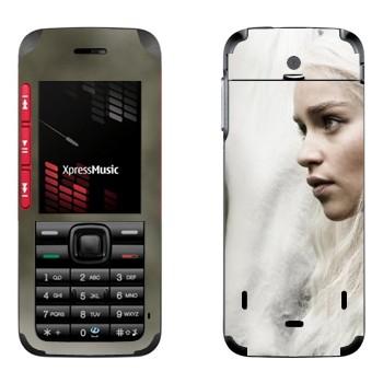"""Виниловая наклейка """"Дейнерис Таргариен - Игра престолов"""" на телефон Nokia 5310"""