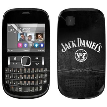 Виниловая наклейка «Виски  - Jack Daniels» на телефон Nokia Asha 200