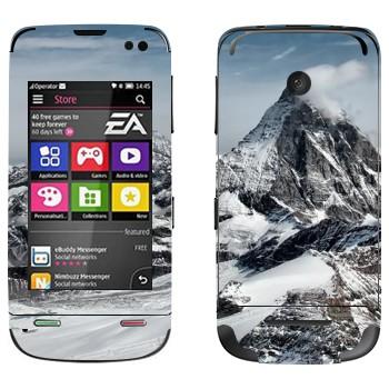 Виниловая наклейка «Эверест» на телефон Nokia Asha 311