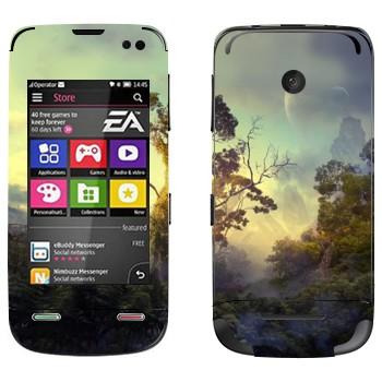 Виниловая наклейка «Лес на Пандоре» на телефон Nokia Asha 311
