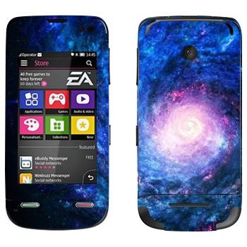 Виниловая наклейка «Спиралевидная галактика» на телефон Nokia Asha 311