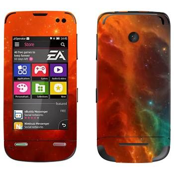 Виниловая наклейка «Туманность» на телефон Nokia Asha 311