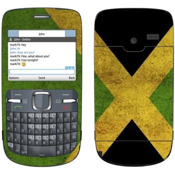 Виниловая наклейка «Ямайка» на телефон Nokia C3-00