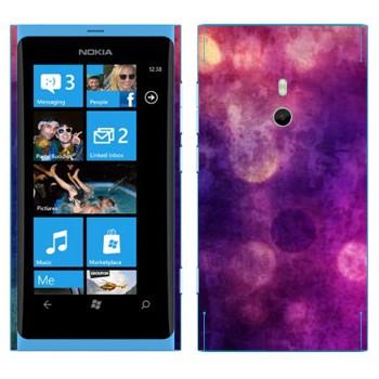 Виниловая наклейка «Фиолетовая Gryngy текстура» на телефон Nokia Lumia 800