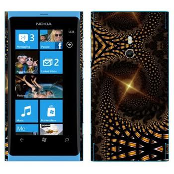 Виниловая наклейка «Калейдоскоп далекая звезда» на телефон Nokia Lumia 800