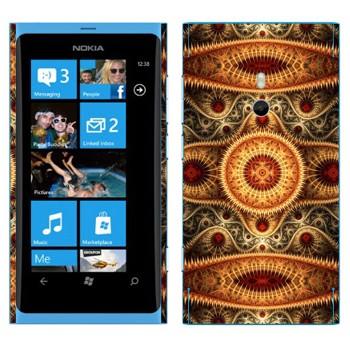 Виниловая наклейка «Калейдоскоп ковер» на телефон Nokia Lumia 800