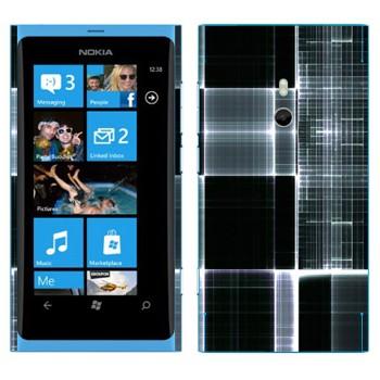 Виниловая наклейка «Клеточки в рентгене» на телефон Nokia Lumia 800
