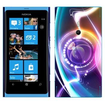 Виниловая наклейка «Объектив нереальный» на телефон Nokia Lumia 800