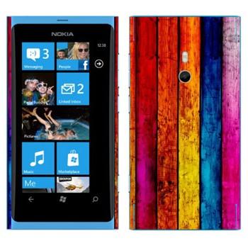 Виниловая наклейка «Радужные доски» на телефон Nokia Lumia 800