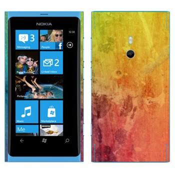 Виниловая наклейка «Радужный мираж» на телефон Nokia Lumia 800