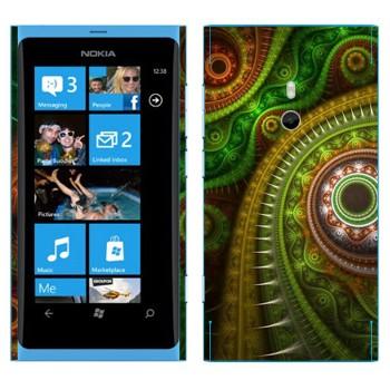 Виниловая наклейка «Узор в восточном стиле» на телефон Nokia Lumia 800