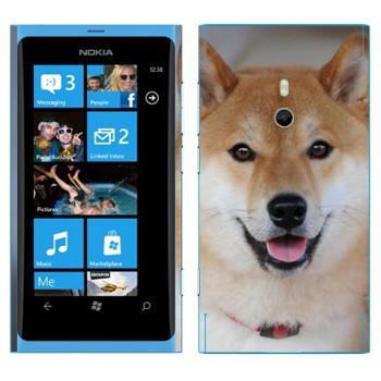 Виниловая наклейка «Карело-финская лайка» на телефон Nokia Lumia 800