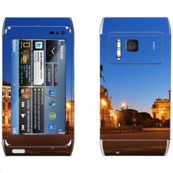 Виниловая наклейка «Санкт-Петербург» на телефон Nokia N8