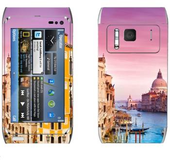Виниловая наклейка «Венеция» на телефон Nokia N8