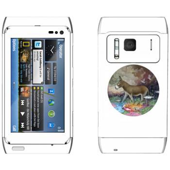 Виниловая наклейка «Kisung The King Donkey» на телефон Nokia N8