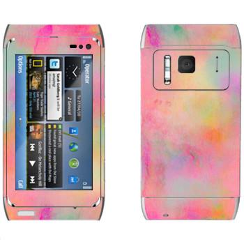 Виниловая наклейка «Sunshine - Georgiana Paraschiv» на телефон Nokia N8