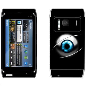 Виниловая наклейка «Глаз» на телефон Nokia N8