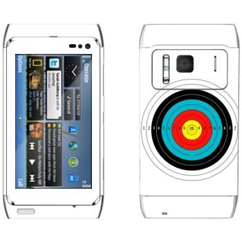 Виниловая наклейка «Мишень» на телефон Nokia N8