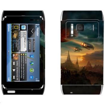 Виниловая наклейка «Протосы возвращаются» на телефон Nokia N8