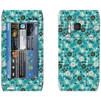 Виниловая наклейка «Секретный сад» на телефон Nokia N8