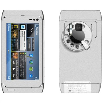 Виниловая наклейка «Таксофон» на телефон Nokia N8