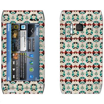 Виниловая наклейка «Узор от Georgiana Paraschiv» на телефон Nokia N8