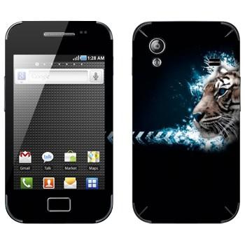 Виниловая наклейка «Тигр профиль» на телефон Samsung Galaxy Ace