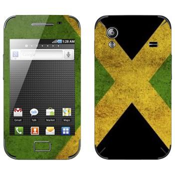 Виниловая наклейка «Ямайка» на телефон Samsung Galaxy Ace