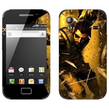 Виниловая наклейка «Adam Jensen - Deus Ex» на телефон Samsung Galaxy Ace