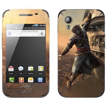 Виниловая наклейка «Assassin's Creed: Revelations - падение» на телефон Samsung Galaxy Ace