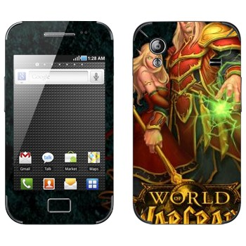Виниловая наклейка «Blood Elves  - World of Warcraft» на телефон Samsung Galaxy Ace