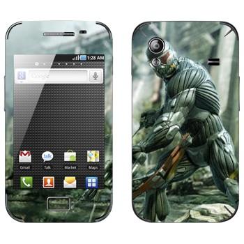 Виниловая наклейка «Crysis» на телефон Samsung Galaxy Ace