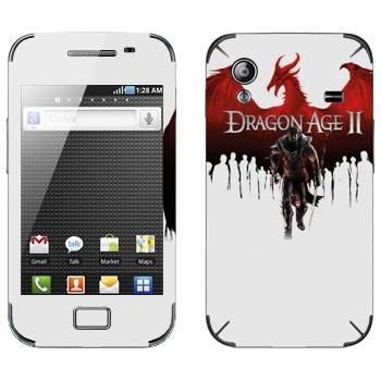 Виниловая наклейка «Dragon Age II» на телефон Samsung Galaxy Ace