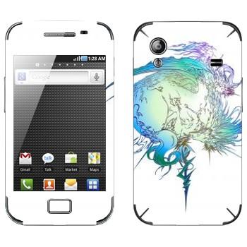 Виниловая наклейка «Final Fantasy 13 абстракция» на телефон Samsung Galaxy Ace