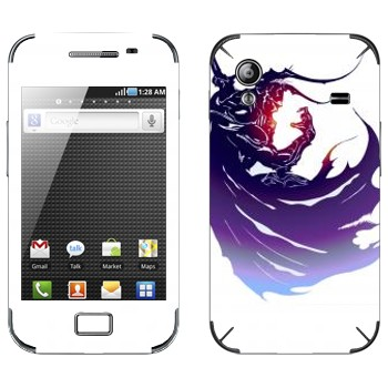 Виниловая наклейка «Final Fantasy 13 темный герой» на телефон Samsung Galaxy Ace
