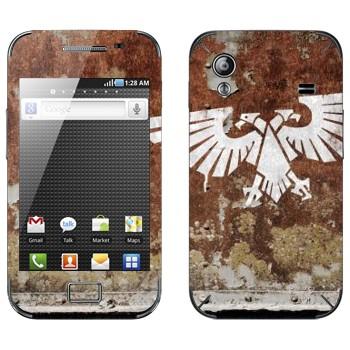 Виниловая наклейка «Imperial Aquila - Warhammer 40k» на телефон Samsung Galaxy Ace