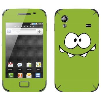 Виниловая наклейка «Om Nom» на телефон Samsung Galaxy Ace
