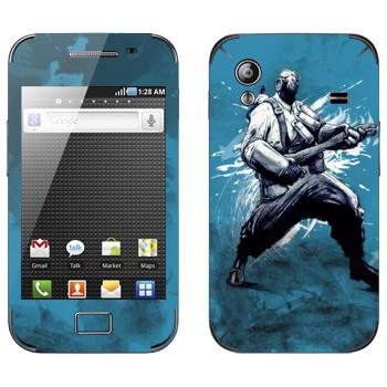 Виниловая наклейка «Pyro - Team fortress 2» на телефон Samsung Galaxy Ace