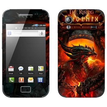 Виниловая наклейка «The Rising Phoenix - World of Warcraft» на телефон Samsung Galaxy Ace