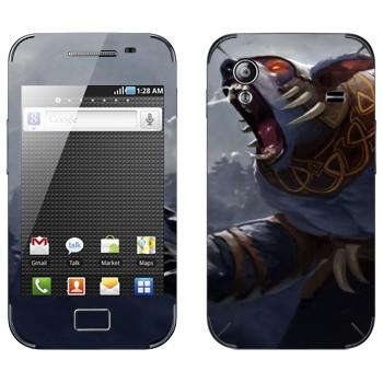 Виниловая наклейка «Ursa  - Dota 2» на телефон Samsung Galaxy Ace