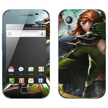 Виниловая наклейка «Windranger - Dota 2» на телефон Samsung Galaxy Ace