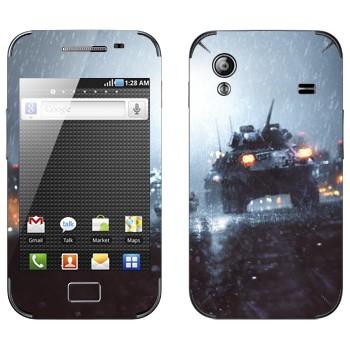 Виниловая наклейка «БМП - Battlefield» на телефон Samsung Galaxy Ace