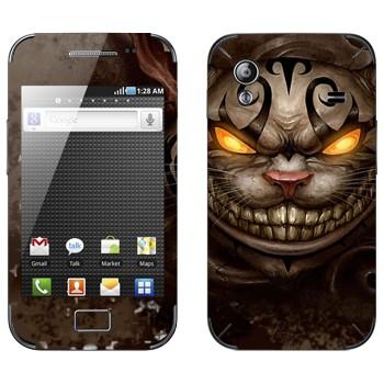 Виниловая наклейка «Чеширский Кот - Алиса в стране чудес» на телефон Samsung Galaxy Ace